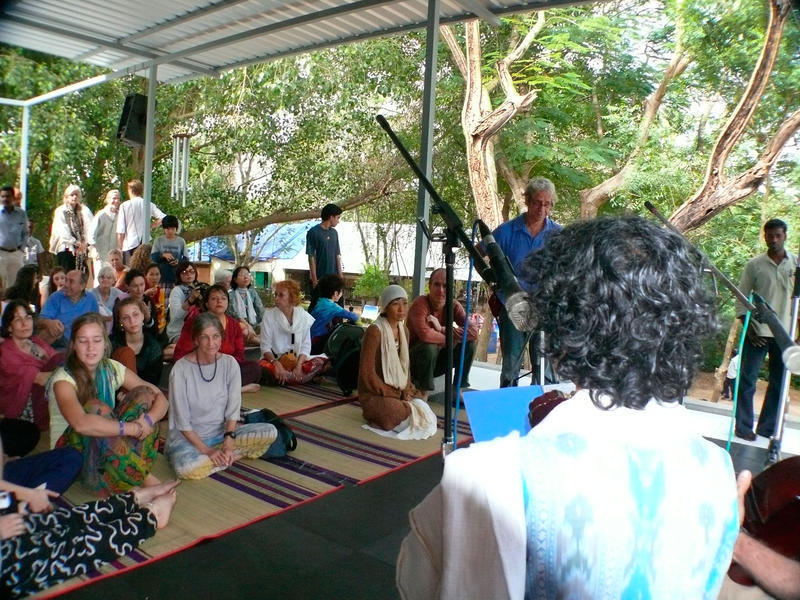 Photographer:Giorgio | At the Svaram event participate many Aurovilians and Guests.