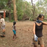 <b>Volunteering for the cleaning up</b>