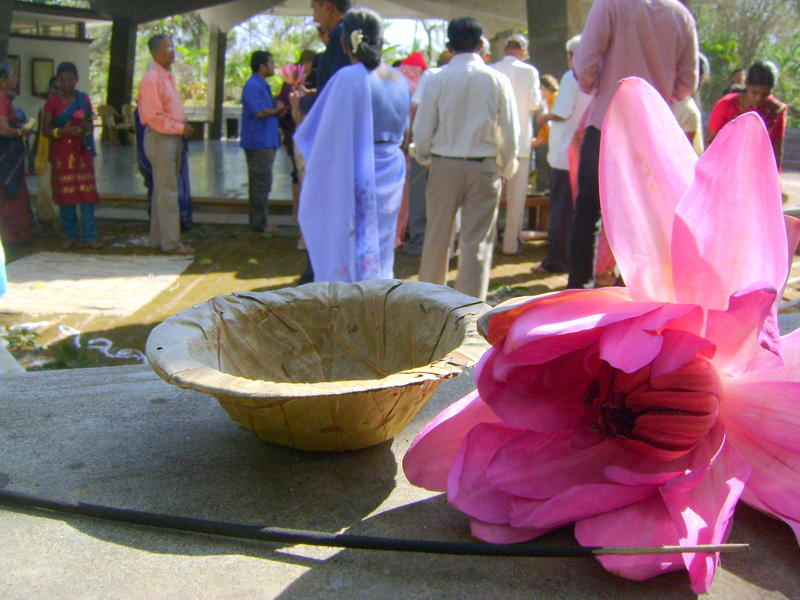 Photographer:Montse   Ceremonial inauguration to Homage Saint Tyagaraja