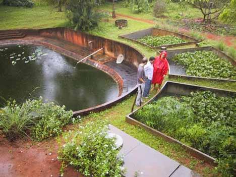 Photographer:www.auroville.org   waste water treatment