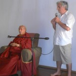 Claude Arpi introducing Samdhong Rinpoche