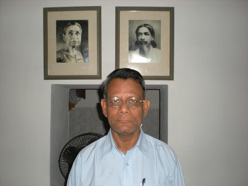 Photographer:Anurag | Saket from the Sri Aurobindo Ashram, spoke about why he enjoys volunteering so much.