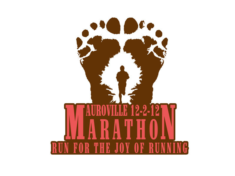 Photographer:Vimal  | Auroville Marathon Logo 2012