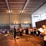 Auroville Choir in action