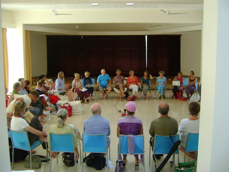 Photographer:Alma   Presentation of Aruoville Centres Activities