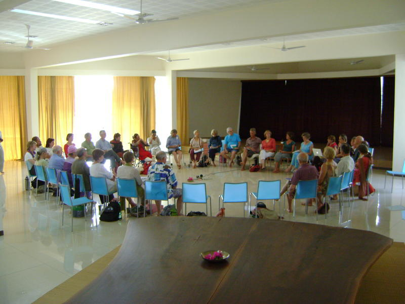 Photographer:Alma | Presentation of Aruoville Centres Activities