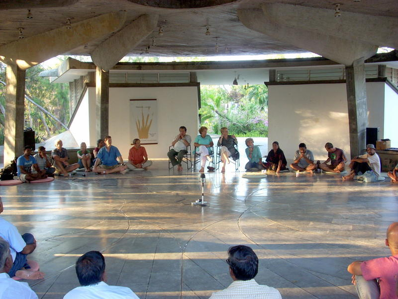 Photographer:Andrea | The Auroville Council the Working Committee members