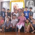 <b>Loretta at Tibetan Pavilion</b>