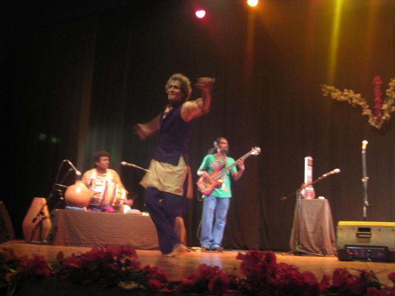 Photographer:Divya | Krishna captivated by the beat!