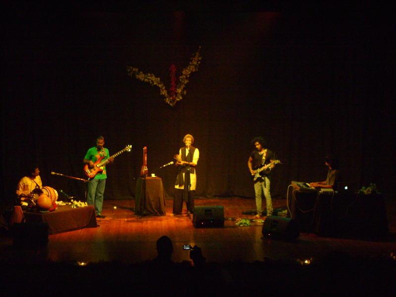 Photographer:Divya | Krishna's Temple Rock Band comes together