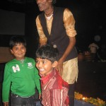 Krishna meets and greets after the concert