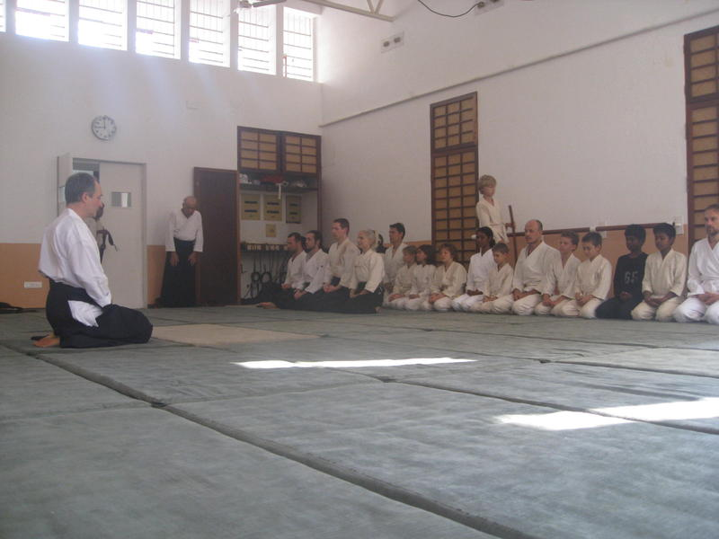 Photographer:Divya | Aikido workshop bringing together people of all ages