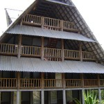 a frontal view of the new guest house