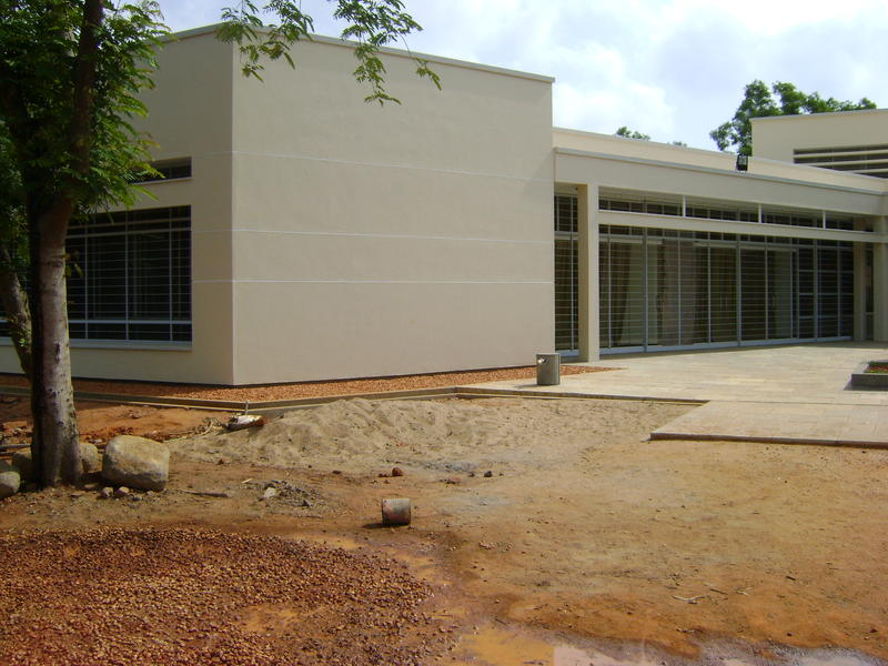 Photographer:Jorren   New main hall of Unity Pavilion in International Zone