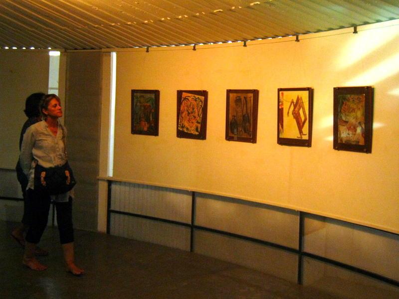 Photographer:Maria | View of Tomasz Kowalski paintings