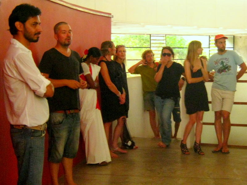 Photographer:Maria   The curator Janek Simon presents Misja Auropol