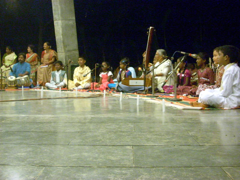 Photographer:Andrea | Nandita Di and her students of Hindustani Vocal Music
