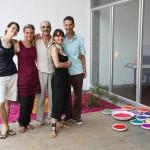Aurevan, Pino, Caterina, Jorge