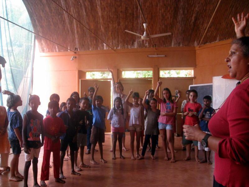 Photographer:Jorren | Laughter Yoga Session at Deepanam School