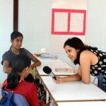 Guided Visualization during Laughter Yoga Sessions