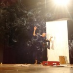 Roxana Pineda performing Piel Des Violetas