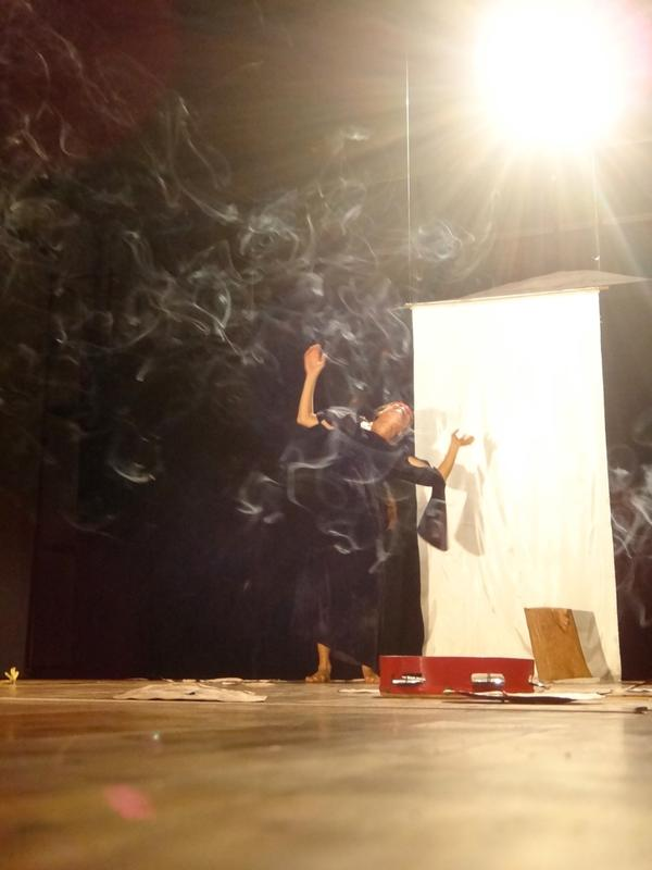 Photographer:Jyoti | Roxana Pineda performing Piel Des Violetas