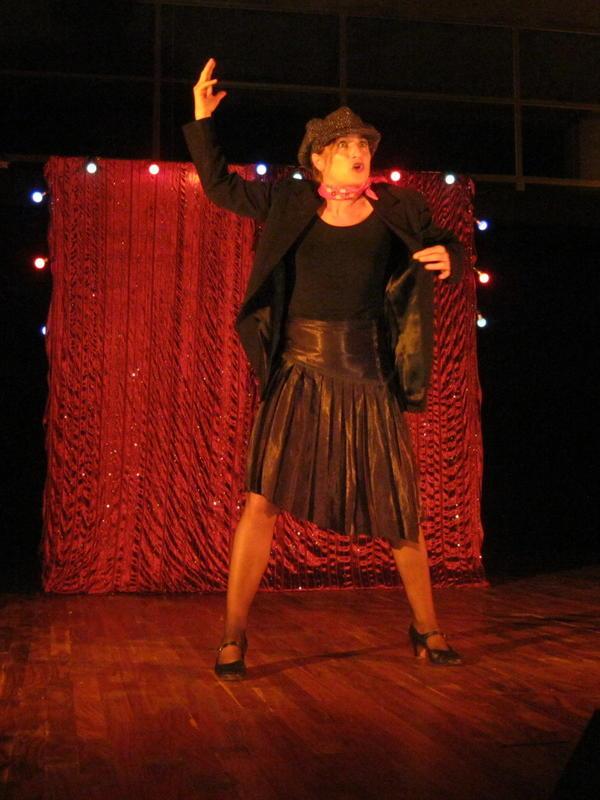 Photographer:Maria | Nathalie Mentha performs Per Edith Piaf