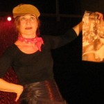 Per Edith Piaf, Nathalie Mentha in action in different roles