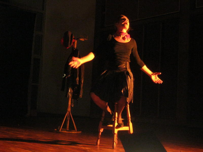 Photographer:Maria | One of the different roles performed by Nathalie Mentha