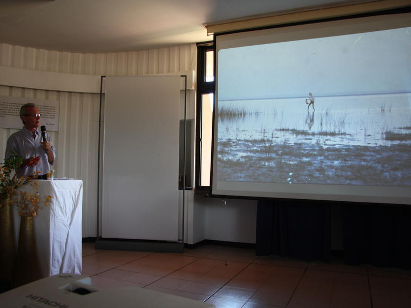 Photographer:Stella | Joss's presentation