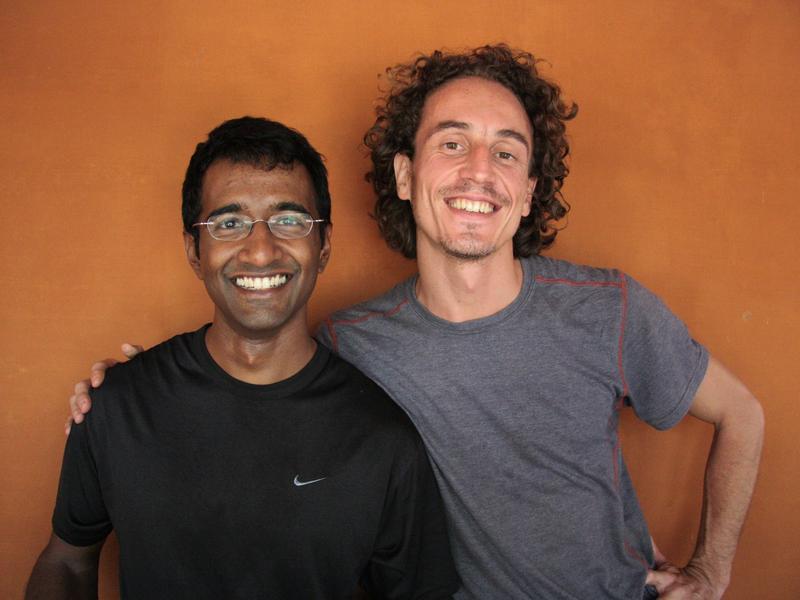 Photographer:Stella   Auroville Retreat Vikram and Martin