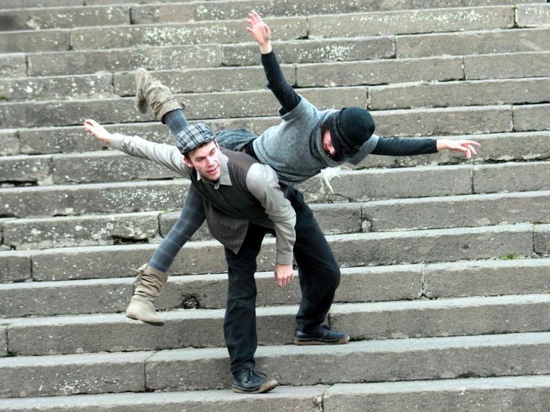 Photographer:Irene & Johan | Irene and Johan dance in Viterbo, Italy