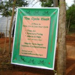 Opening Day of Cycle kiosk