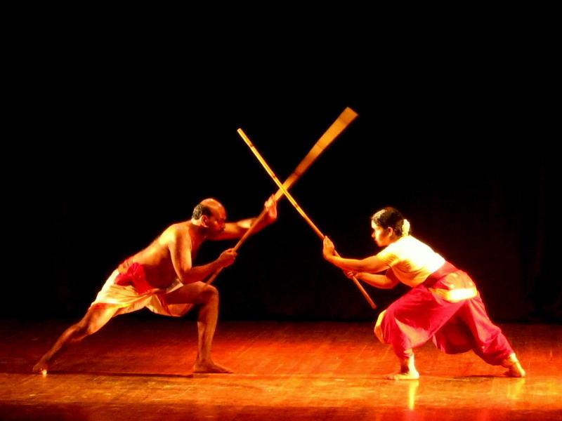 Photographer:Maria   Kalarippayat: a fight with sticks