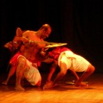 Kalarippayat: the one wins on the two fighters