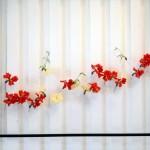 Pala's flower arrangement