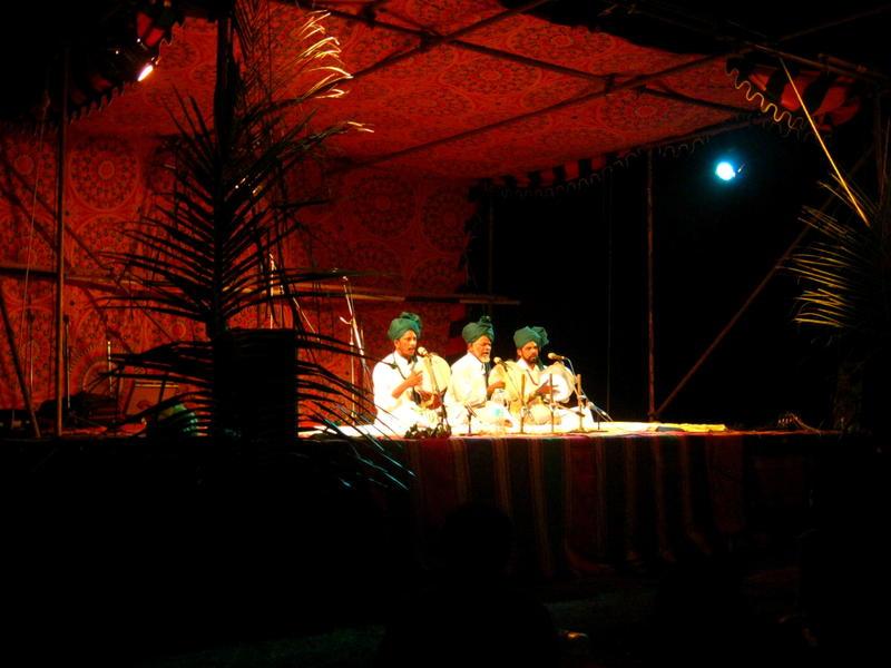 Photographer:Maria   The Sufi singers Abdul Ghani, Ajah Maideen and Saburmaideen Babha Sabeer at Kabir Festival