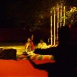 Mooralala Marwada and audience on their feet