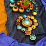 Mix-media installation by Sandhiya Kalyan from Chennai