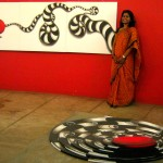 Two works from the Maya's painting series by Sandhya Gopinath from Chennai