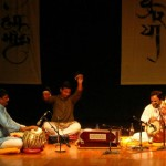 Hemant Chauhan Trio with a special performance with cymbals