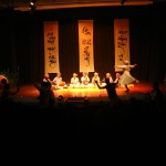 The audience dancing with Prahlad Tipanya's music