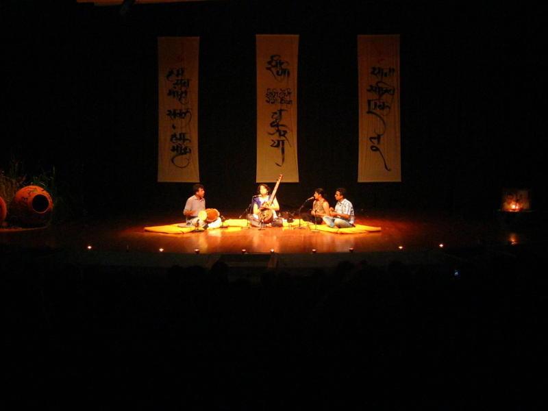 Photographer:Maria | Shabnam Virmani at Sri Aurobindo Auditorium,