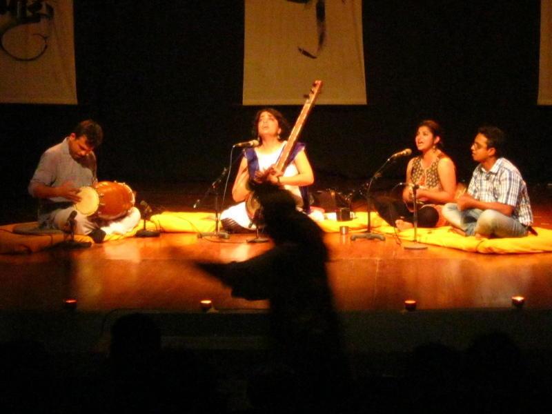 Photographer:Maria | Shabnam Virmani on stage