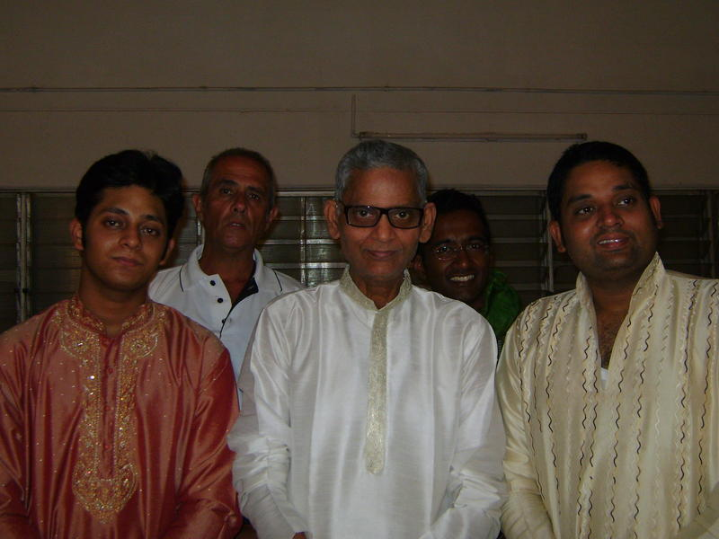 Photographer:Deenaz | Prashant Mishram, Pandit Shivnath Mishra, Deobrat Mishra