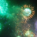 May Day fireworks
