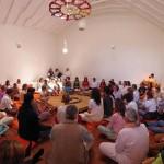 Relics enshrinement with Tara Didi
