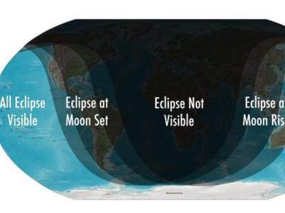 Photographer:web | Phases of Partial Lunar Eclipse