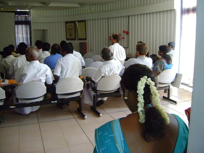 Photographer:Renu | Panchayat Meeting on Rising Awareness on Auroville
