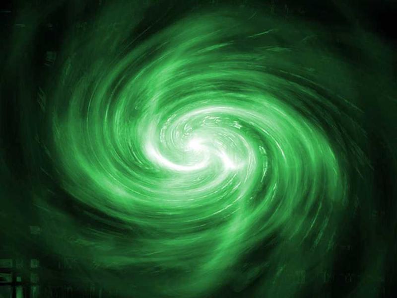 Photographer:google image   Green Grows the Galaxy